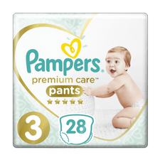 Pampers Premium Pants S3, 28ks pelenka
