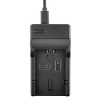 Panasonic CGR-S006 CGR-S006E CGA-S006E CGA-S002E akku/akkumulátor USB adapter/töltő utángyártott
