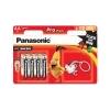 Panasonic Elem, AA ceruza, 8 db, ajándék kulcstartóval, PANASONIC Pro power