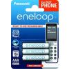 """Panasonic Tölthető elem, AAA mikro, 3x750 mAh, előtöltött, PANASONIC """" Eneloop"""""""