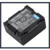 Panasonic VDR-D250 7.2V 700mAh utángyártott Lithium-Ion kamera/fényképezőgép akku/akkumulátor