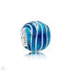 Pandora Kék örvény charm - 797012ENMX