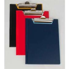 PANTA PLAST Felírótábla, fedeles, A4, PANTAPLAST, piros-fehér felírótábla