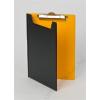 PANTA PLAST Felírótábla, fedeles, A5, PANTAPLAST, fekete-sárga (INP4006601)