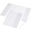 PANTA PLAST Füzet- és könyvborító, A4, PP, 90 mikron, fényes felület, PANTA PLAST, víztiszta (INP3026000)