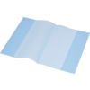 PANTA PLAST Füzet- és könyvborító, A5, PP, 80 mikron, narancsos felület, PANTA PLAST, kék