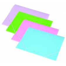 PANTA PLAST Gumis mappa, 15 mm, PP, A4, PANTA PLAST, pasztellkék mappa