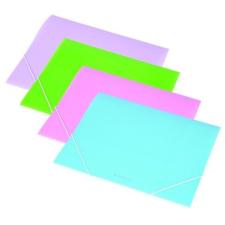 PANTA PLAST Gumis mappa, 15 mm, PP, A4, PANTA PLAST, pasztellzöld mappa
