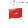 PANTA PLAST Irattartó táska, műanyag, A4, 1 rekeszes, PP, PANTA PLAST Omega, piros
