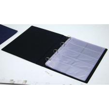 PANTA PLAST Névjegytartó, 400 db-os, gyűrűs, PANTAPLAST, kék hegesztés