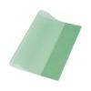 PANTA PLAST Panta Plast Füzetborító, A5, PP, 80 mikron, narancsos felület, PANTA PLAST, zöld
