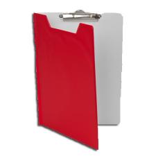 Pantaplast Felírótábla, fedeles, A5, PANTAPLAST, piros-fehér felírótábla