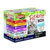Panzi Állateledel alutasakos PANZI FitActive FitaBox macskáknak 12*100 g