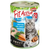 Panzi Fit Active Cat Beef & Lamb Junior 415g