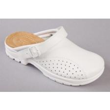 Papucs, 39-es méret, fehér munkavédelmi cipő