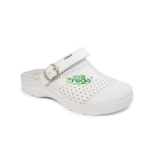 . Papucs, 41-es méret, fehér munkavédelmi cipő
