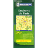 Párizs 60 km-es környéke térkép - Michelin 106