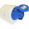 PCE felületre szerelhető ipari dugaszoló aljzat 3 pólusu 32A 220V IP44