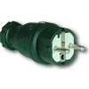 PCE gumi lengő dugvilla 220V 16A IP44