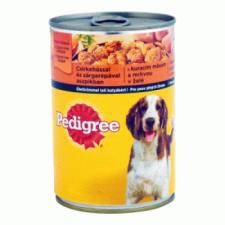 Pedigree kutyaeledel konzerv 400 g csirkével és sárgarépával aszpikban kutyaeledel