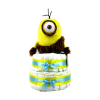 Pelenkatorta Webshop Babaváró ajándék ötlet: Minion Caveman Stuart pelenkatorta