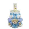 Pelenkatorta Webshop Babaváró ajándék ötlet: Pelenkatorta kisfiúnak BabyZoo baba hintõporral