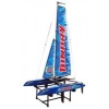 PELIKAN Joysway RC Catamaran Binary, 400 mm RTR, kék