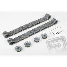 PELIKAN Upgrade kit tunning - Lánctalp + kerék - fém (3838-hoz) rc modell kiegészítő