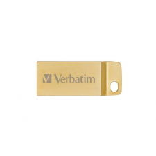 "Pendrive, 16GB, USB 3.0,  VERBATIM ""Exclusive Metal"" arany (UV16GEM32) pendrive"