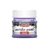 Pentacolor Kft. Pentart Fényes ibolyalila színű akril bázisú hobbi festék 50 ml
