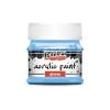Pentacolor Kft. Pentart Fényes világoskék színű akril bázisú hobbi festék 50 ml