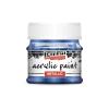 Pentacolor Kft. Pentart Metál kobaltkék színű akril bázisú hobbi festék 50 ml