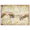 Pentart Dekupázs rizspapír A4 - Michelangelo, Az ember teremtése