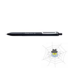 Pentel Golyóstoll PENTEL iZee nyomógombos 0,35 mm fekete toll