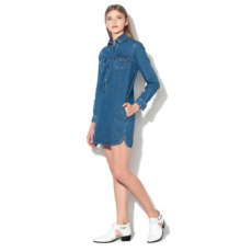 Pepe Jeans London , Iris straight fit farmerruha, Sötétkék, L (PL952412-000-L)