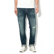 Pepe Jeans London , Zinc Regular Fit farmernadrág, Sötétkék, W33-L32 (PM204282-000-W33-L32)