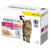Perfect Fit 12x85g Perfect Fit nedves macskatáp vegyes csomagban