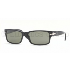 Persol PO2803S 95/58 BLACK CRYSTAL GREEN POLARIZED napszemüveg
