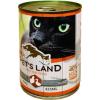 PET'S LAND Cat konzerv baromfival (24 x 415 g) 9.96kg