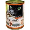 PET'S LAND PET S LAND CAT KONZERV BAROMFI 415G