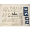 Peugeot MATRICA KLT. PEUGEOT NAGY /EZÜST/ PEUGEOT - UNIVERZÁLIS