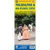 Philadelphia és a Közép-Atlanti államok térkép - ITM