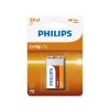Philips 6F22L1B/10 - cink-klorid elem 6F22 LONGLIFE 9V