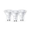 Philips Készlet 3x LED izzó Philips GU10/4,7W/230V