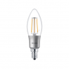 Philips LED 4.5W/827/E14 - Gyertya D 4,5-40W B35 CL - FILAMENT Classic D - Philips - 929001227202