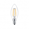Philips LED 4W/827/E14 - Gyertya 4-40W B35 CL - FILAMENT Classic ND - Philips - 929001258002