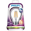 Philips LED B22 7,5W = 60W 2700K 700lm Izzó