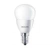 "Philips LED izzó, E14, csillár, 4W, 250lm, 230V, 2700K, P45, PHILIPS \""CorePro\"""
