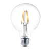 "Philips LED izzó, E27, gömb, 7W, 806lm, 2700K, G93,  ""Filament Classic"""