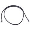 Phobya 2pin kábel hosszabbító aljzat / dugó 60cm - fekete